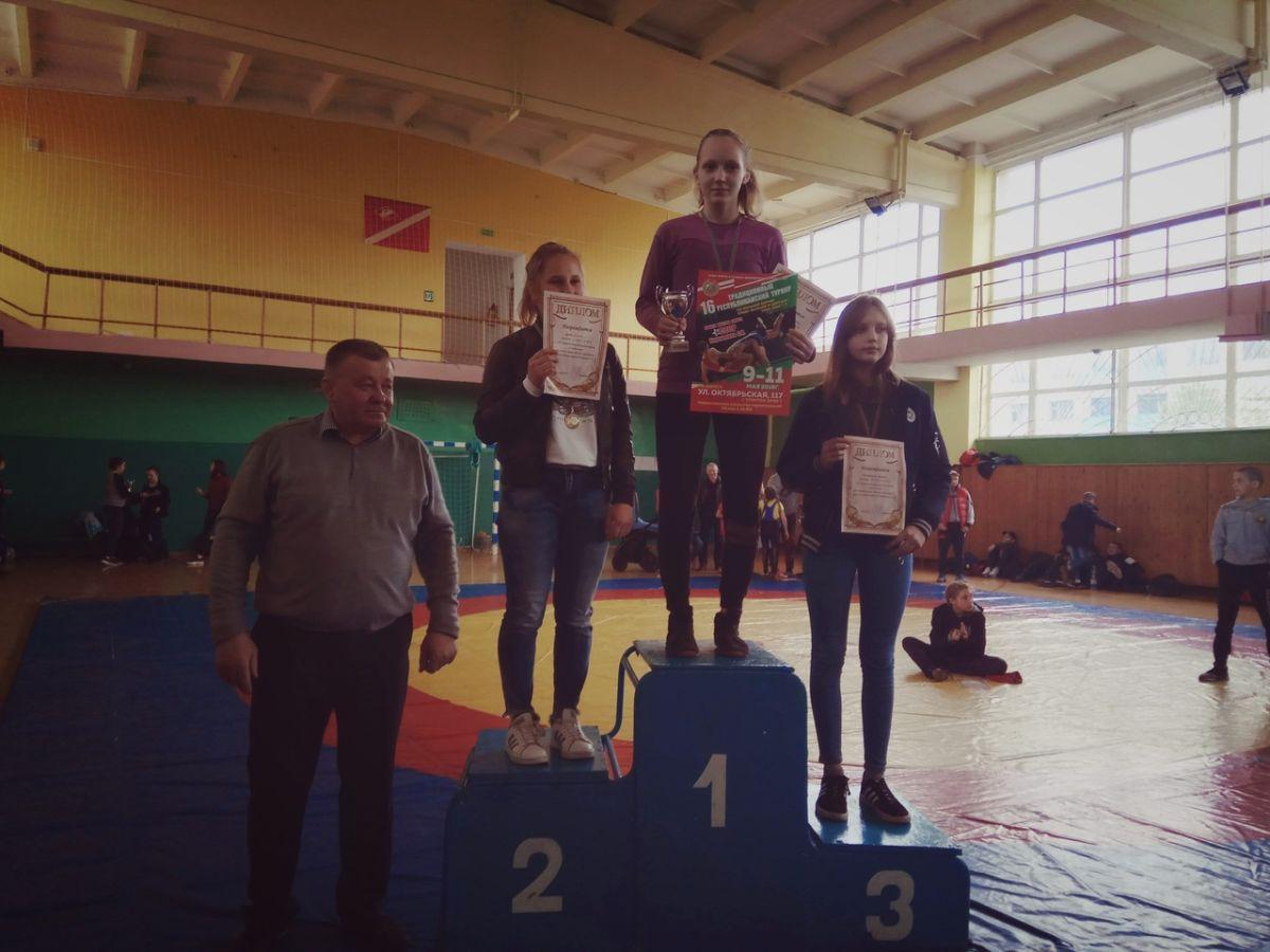 В Бобруйске прошел турнир по борьбе вольной Коренькова С.Н.