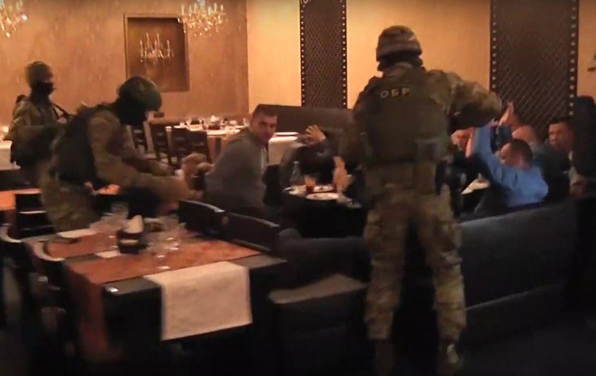 В минском кафе милиция прервала сходку вора в законе и смотрящих за регионами