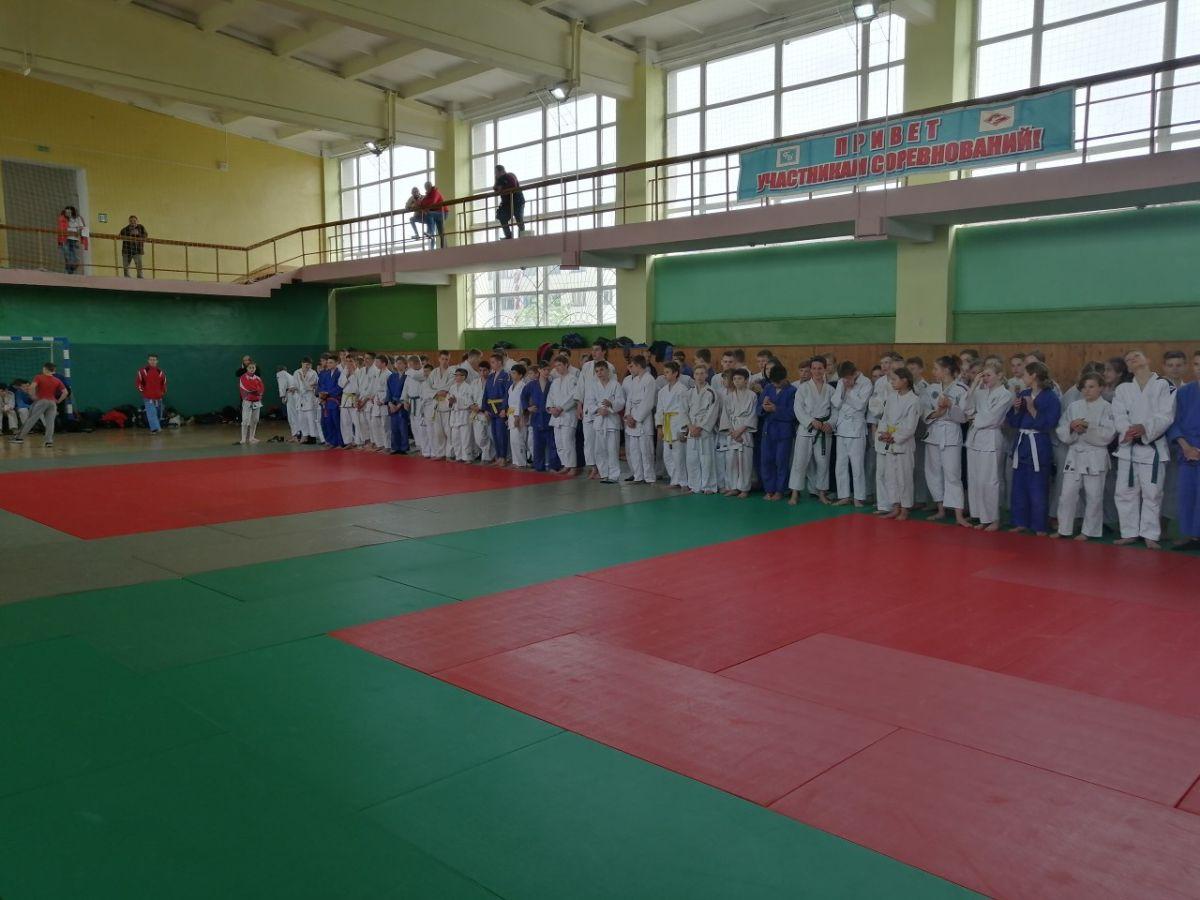 Спартакиада профсоюзов по дзюдо прошла в Бобруйске