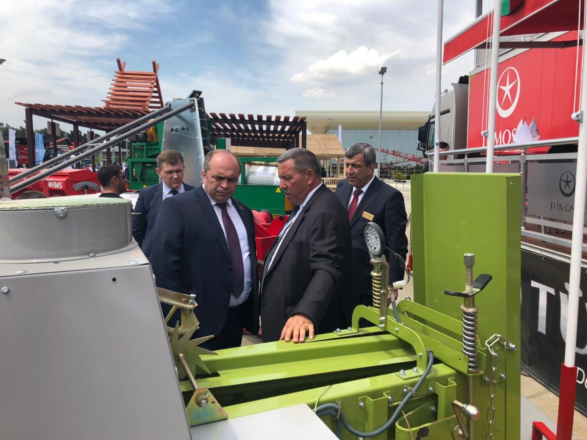 ОАО «Белшина» на 13-ой Азербайджанской Международной Выставке «Сельское Хозяйство»