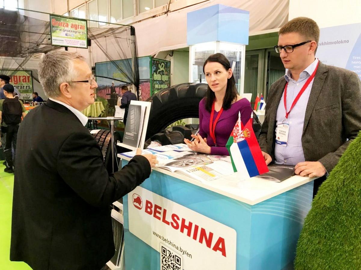 «Belshina» участвует в выставке «Made in Belarus» в Сербии