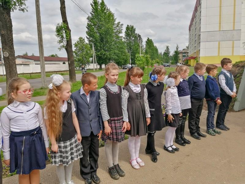В Бобруйске прошел торжественный сбор, посвященный приему в пионеры и октябрята