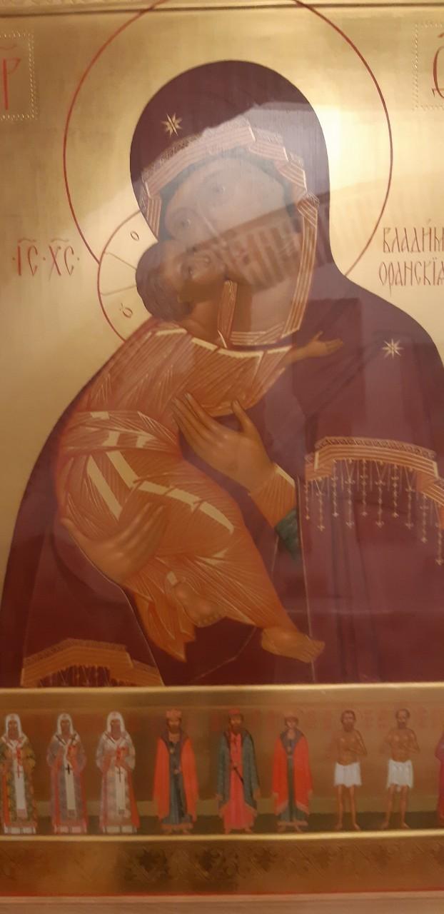 июня в Бобруйск с Афона будет доставлен список Владимирской иконы Пресвятой Богородицы
