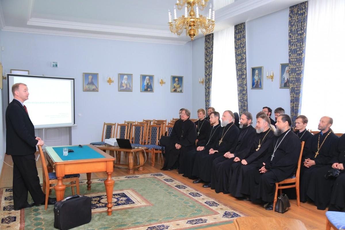 Лекция на тему: «Система нетрадиционной религиозности» прошла в Бобруйской епархии