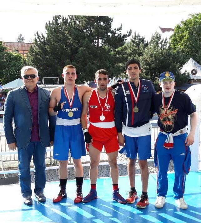 Воспитанник Бобруйской СДЮШОР занял первое место в Чемпионате IX Международного турнира по боксу