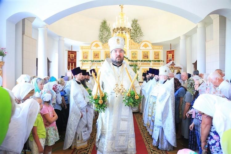 Престольный праздник Свято-Духова храма г. Бобруйска