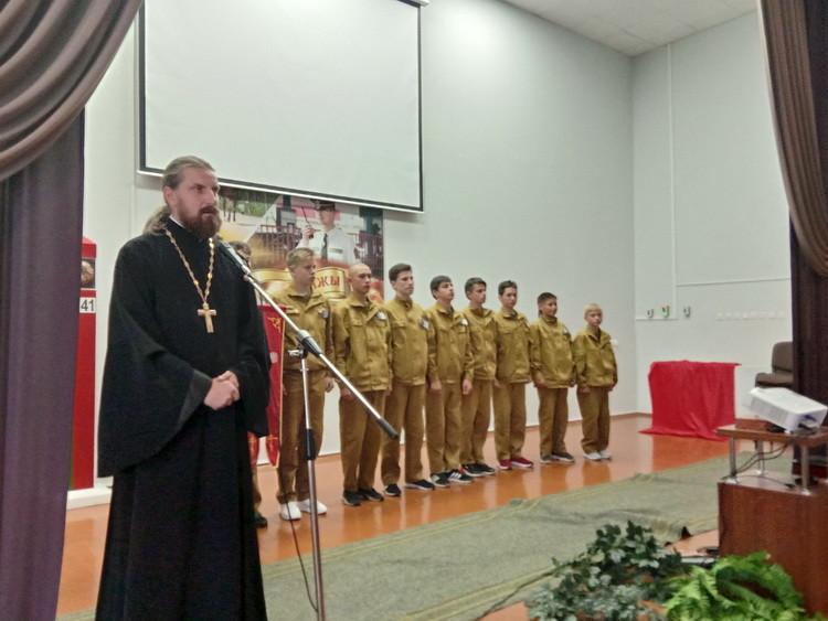 Военно-патриотический слет православной молодежи