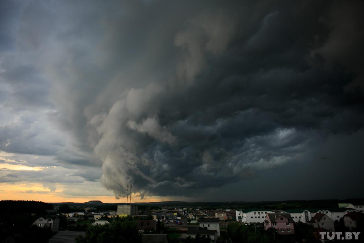 На 10 июля объявили штормовое предупреждение: ожидаются грозы