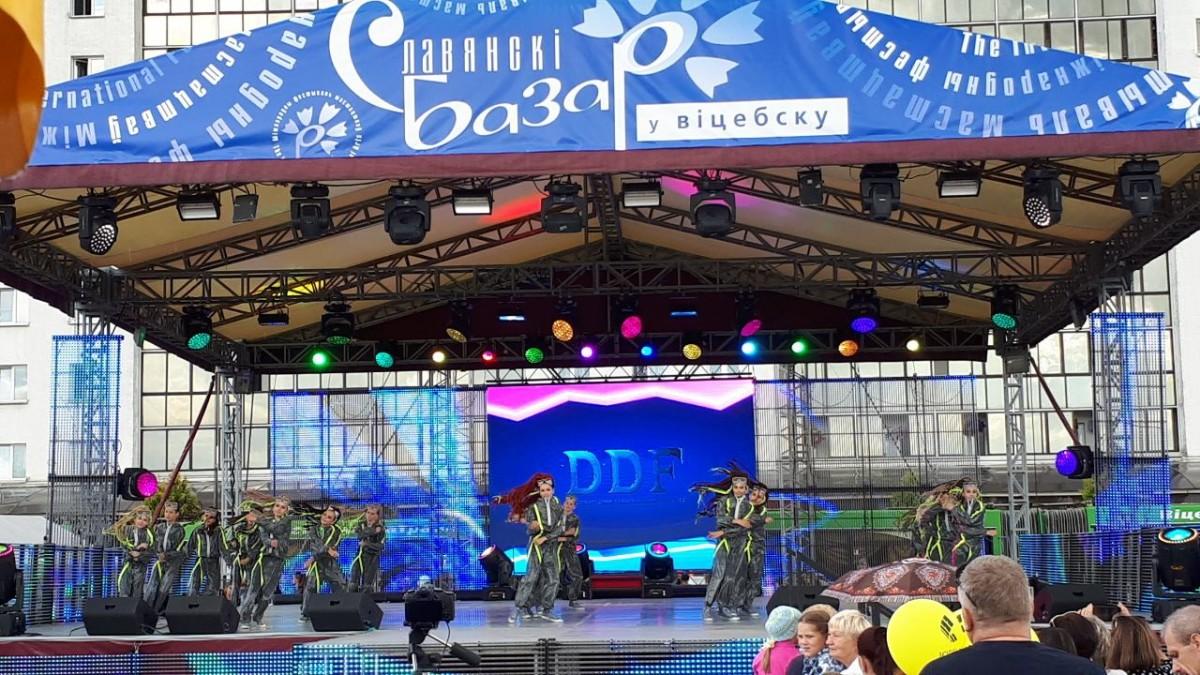 В витебском Dream Dance Fest участвовали бобруйчане