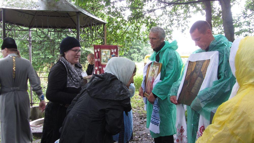 В воскресенье в аг. Горбацевичи состоялся ежегодный праздник Ризоположенского храма
