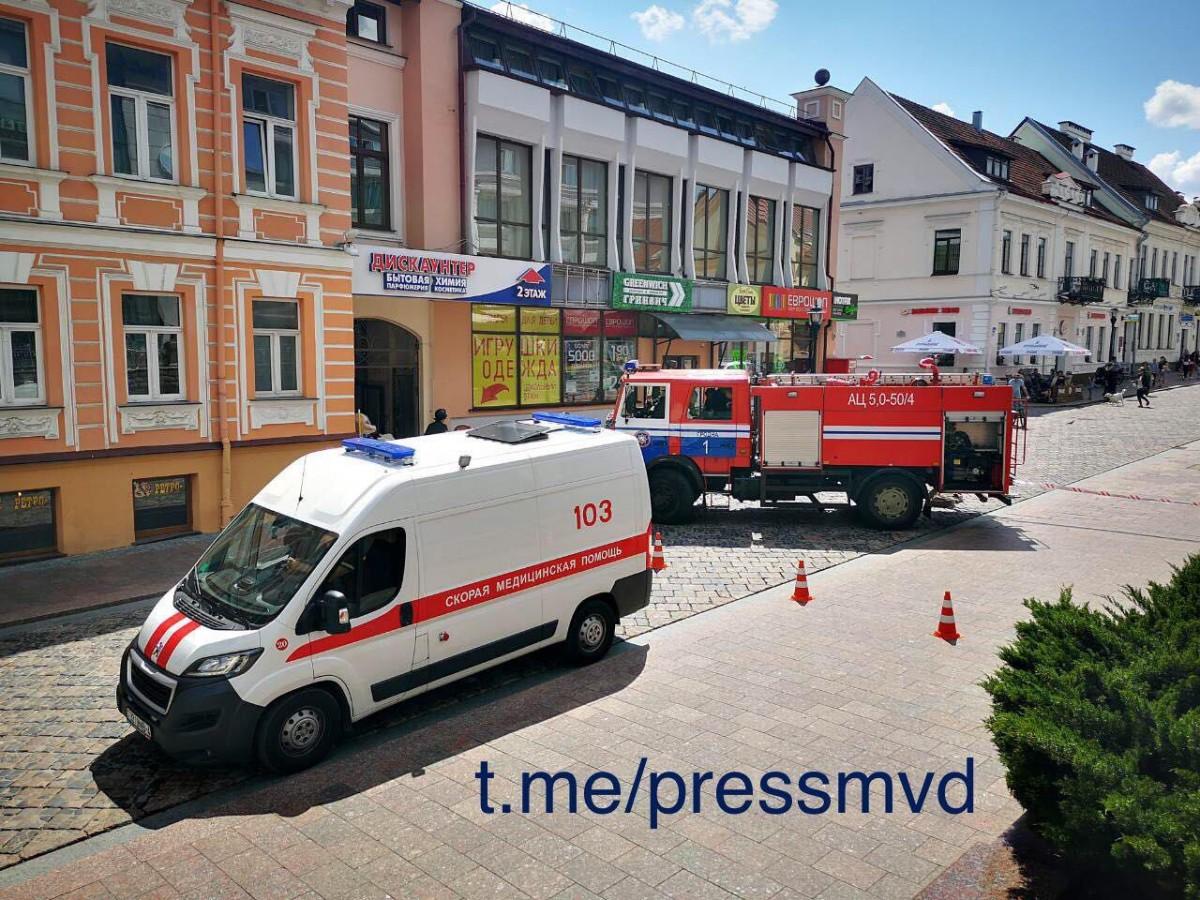 Сообщение о взрывных устройствах поступило сегодня на электронные почты обкомов БРСМ