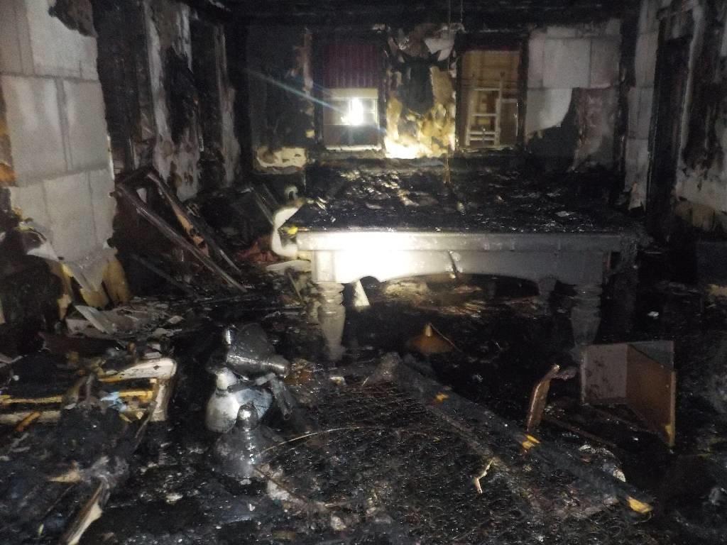 Пожар в одной из саун города