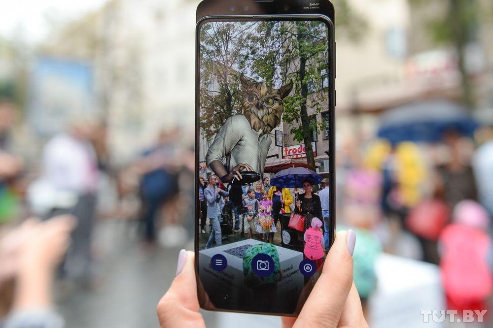 В Минске установили виртуальный памятник айтишнику