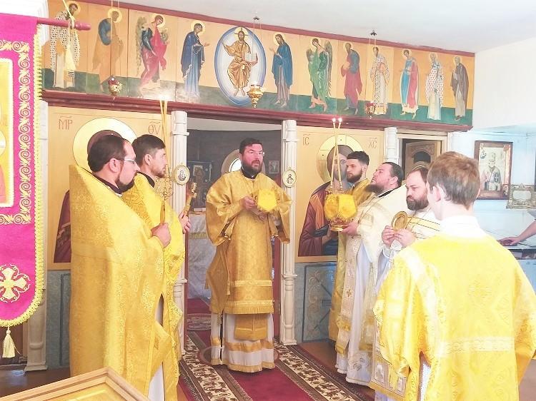 Архиерейское служение в день памяти равноапостольного великого князя Владимира