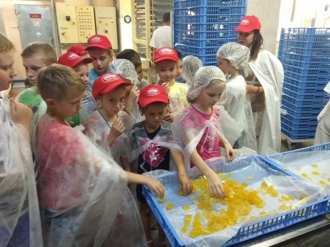 На протяжении всего июля педагоги ГУО «Центр дополнительного образования детей и молодежи г. Бобруйска» при поддержке ОАО «Красный пищевик» создавали все условия для полноценного отдыха и оздоровления более 70 учащихся.