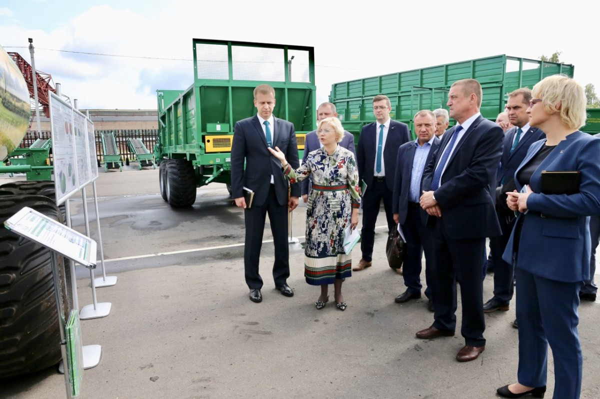 Губернатор Могилевской области посетил «Бобруйскагромаш»