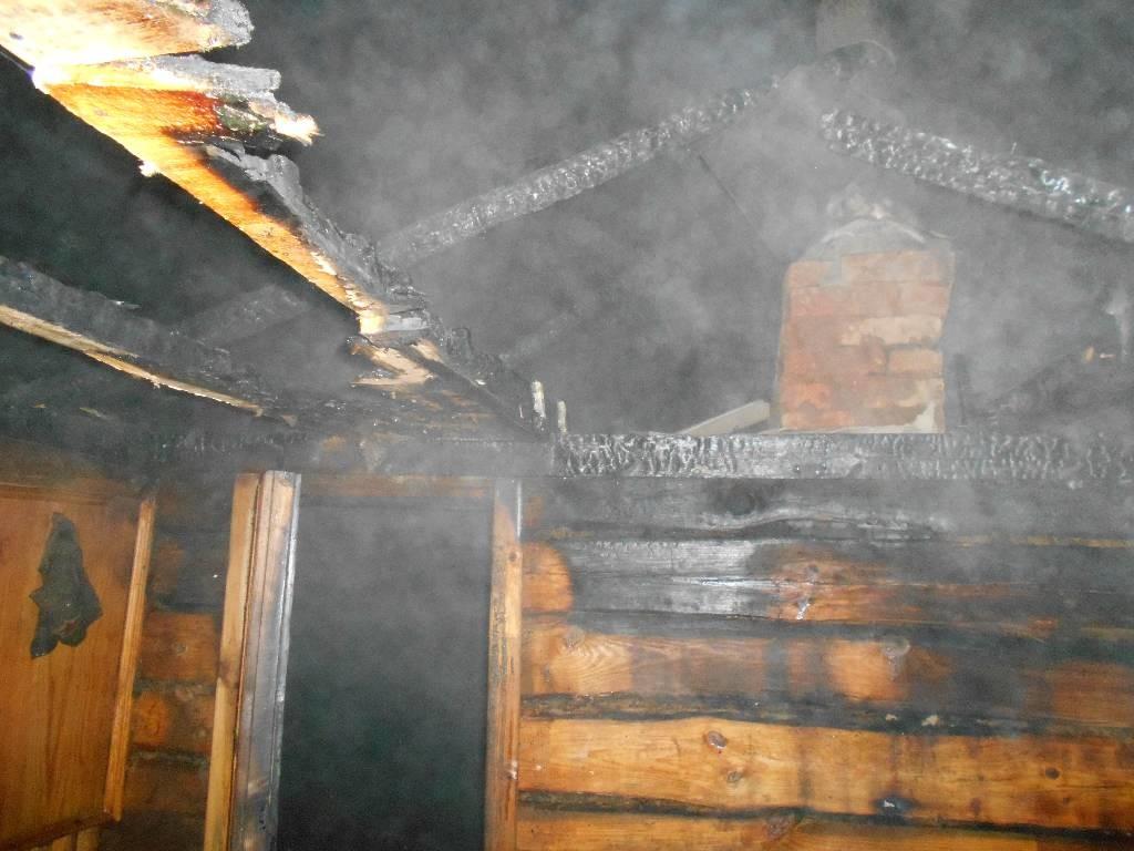 Горела баня в Крапивке