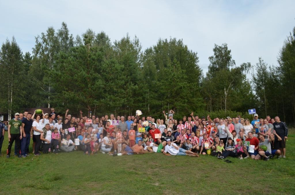 Летний спортивный праздник «Быть здоровым модно» прошел в УВД Бобруйского горисполкома