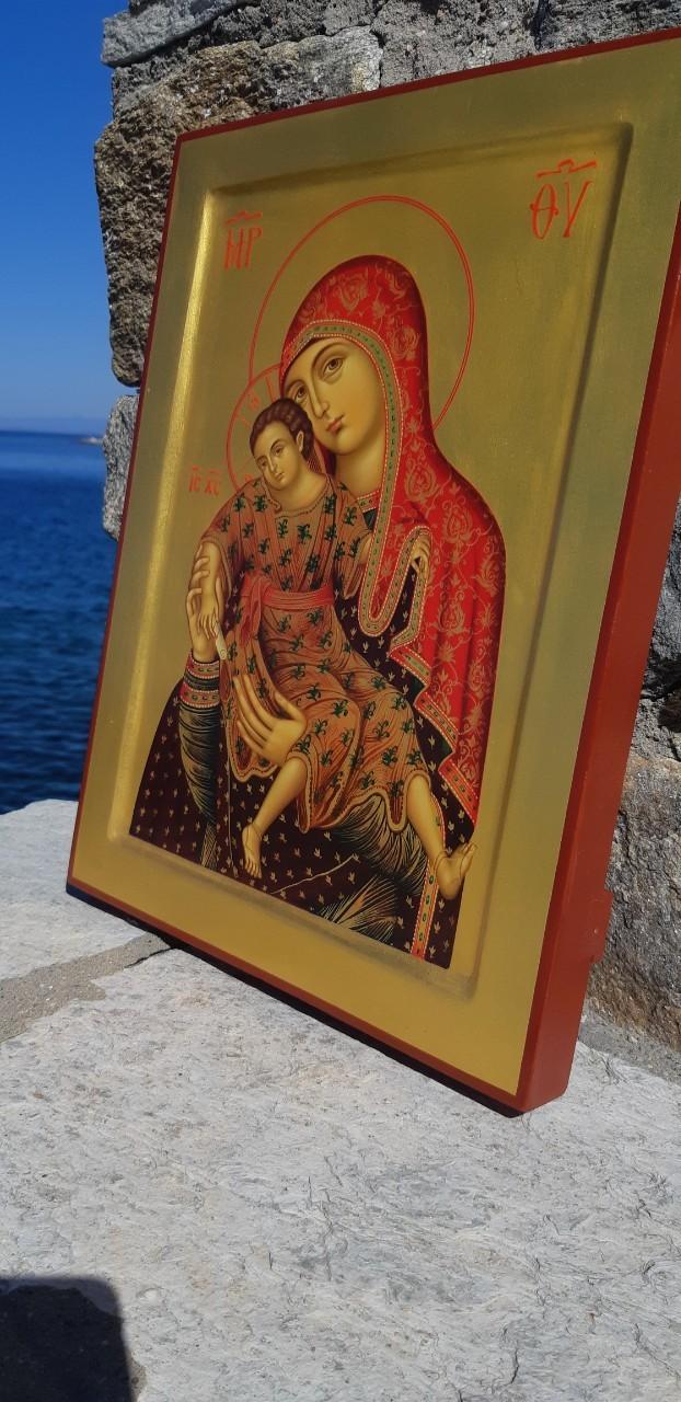 В Покровский храм прибудет с Афона список с Чудотворной Киккской иконы Божией Матери
