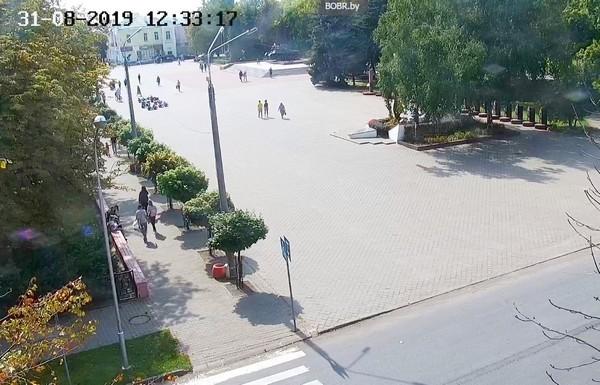 Веб-камера Бобруйска. Площадь Победы