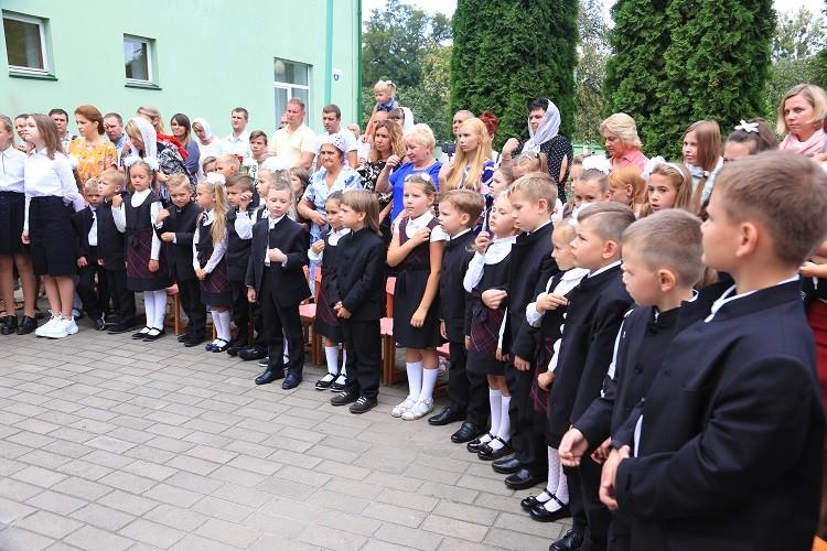 Епископ Серафим совершил молебен перед началом учебного года в Елисаветинской гимназии Бобруйска