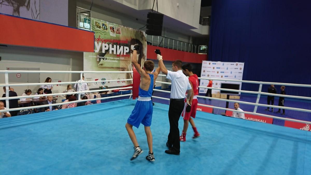 Завершился международный турнир по боксу. В копилке бобруйчан золото