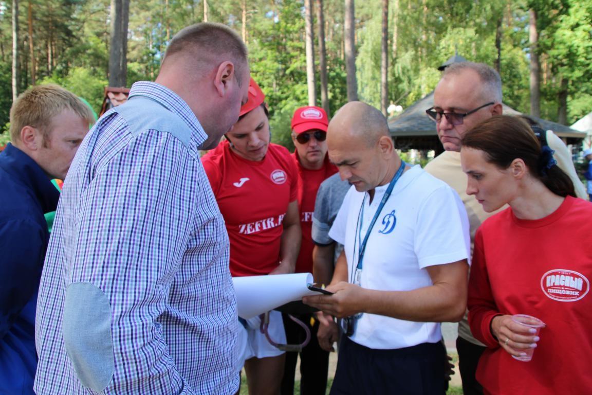 Работники предприятий концерна «Белгоспищепром» спортивно провели минувшие выходные