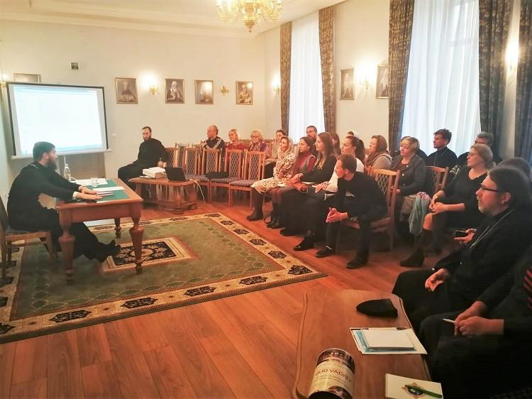 В Бобруйске прошел семинар «Дети на приходе»