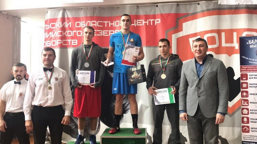 Александр Радионов стал победителем Кубка в весовой категории до 69 кг