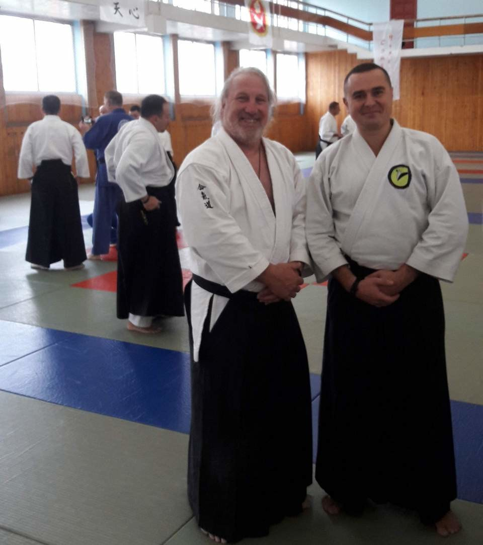 Бобруйчанин выступил  в качестве судьи на Первом Международном турнире по айкидо