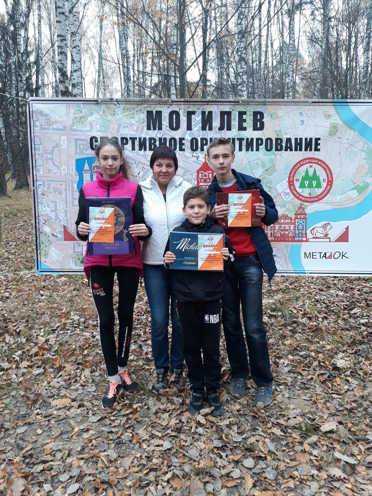 Бобруйские ориентировщики праздновали удачу