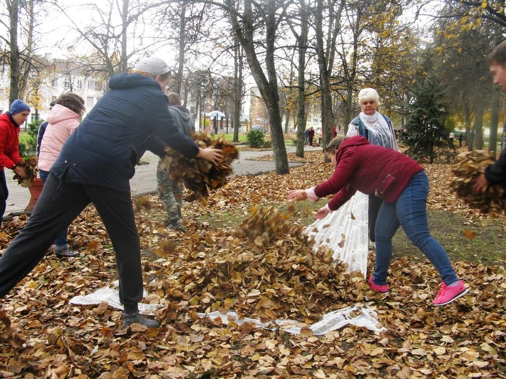 Бобруйчане с ограниченными возможностями за чистый город