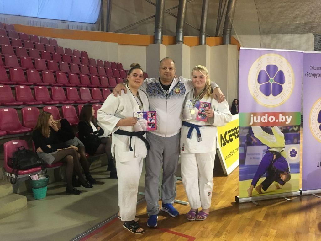 «Золото» и «серебро»  Кубка Республики Беларусь по дзюдо завоевали бобруйские спортсменки