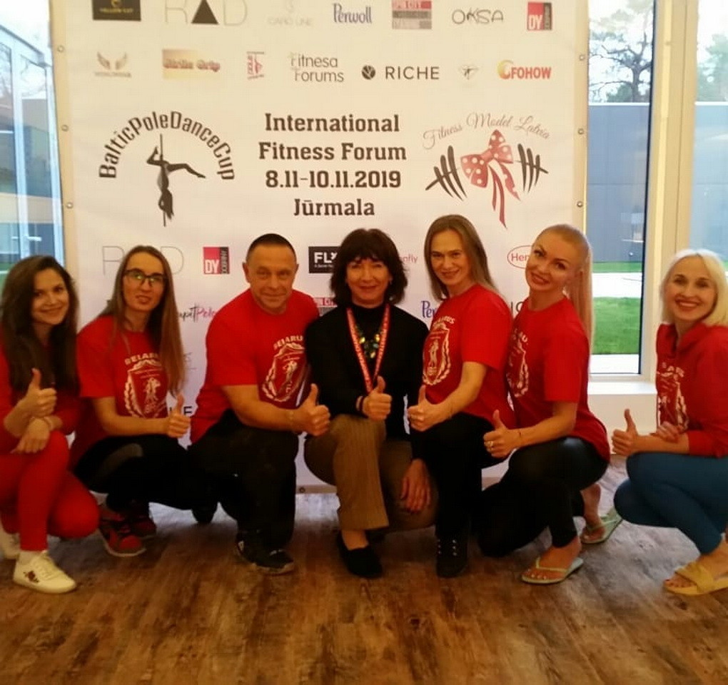 Красивая, профессионально подготовленная команда из Беларуси
