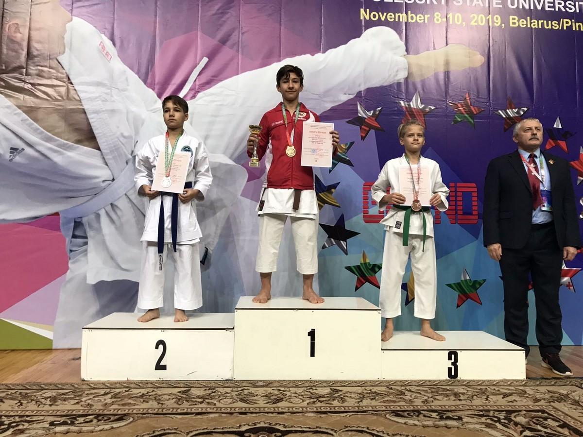 Спортсменами спортивного клуба «Восточный ветер» г. Бобруйска завоевано 6 золотых медалей