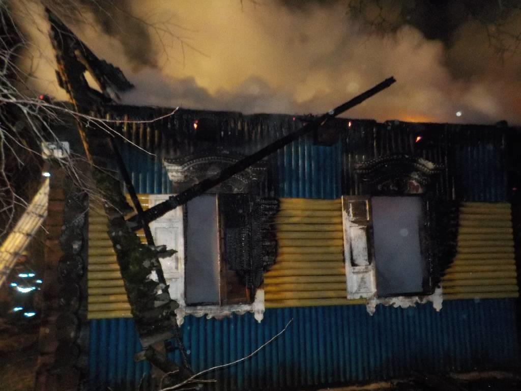 На районе еще одна гибель на пожаре