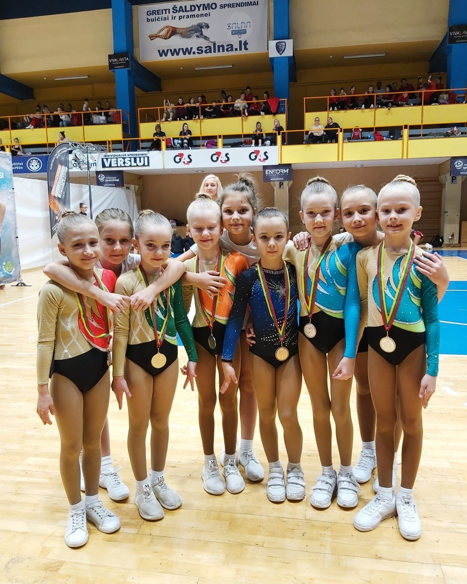 Юные бобруйчанки завоевали «серебро» в Клайпеде