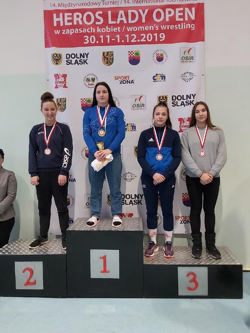 Медали международного турнира добыли «вольницы» в Польше