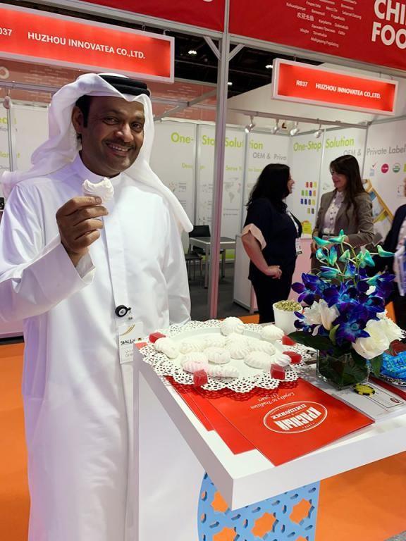 Бобруйские сладости впервые представлены на выставке в Абу-Даби