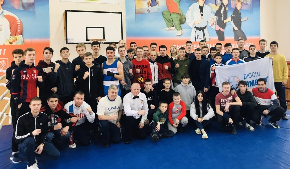 Крупный международный учебно-тренировочный сбор по боксу прошел в Бобруйске