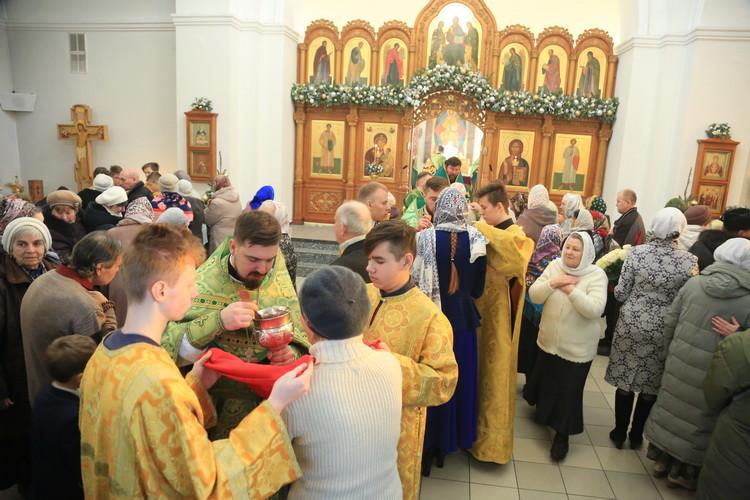 В Бобруйской епархии молитвенно отметили день Ангела правящего Архиерея