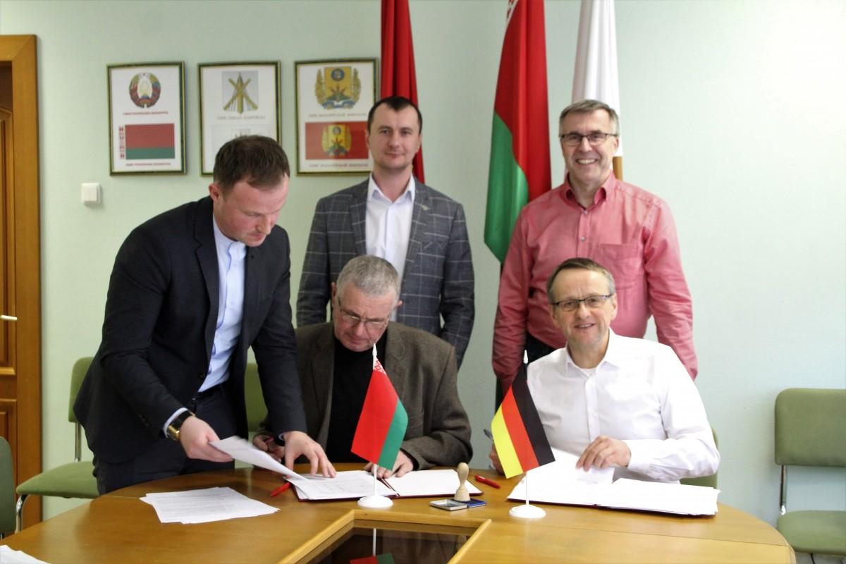 «Красный пищевик» подписал с немецкой компанией контракт на поставку оборудования в Славгород