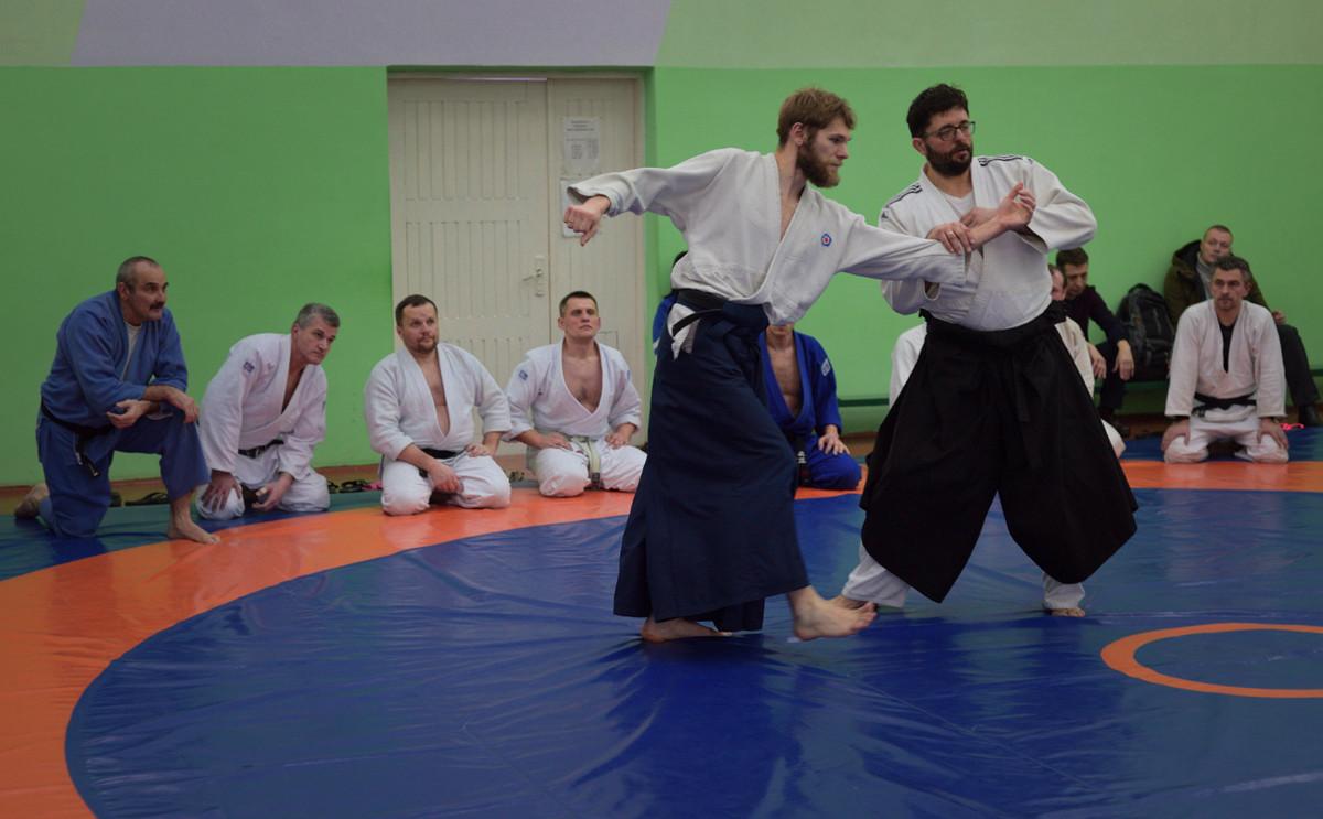 Республиканский  семинар по айкидо в Бобруйске