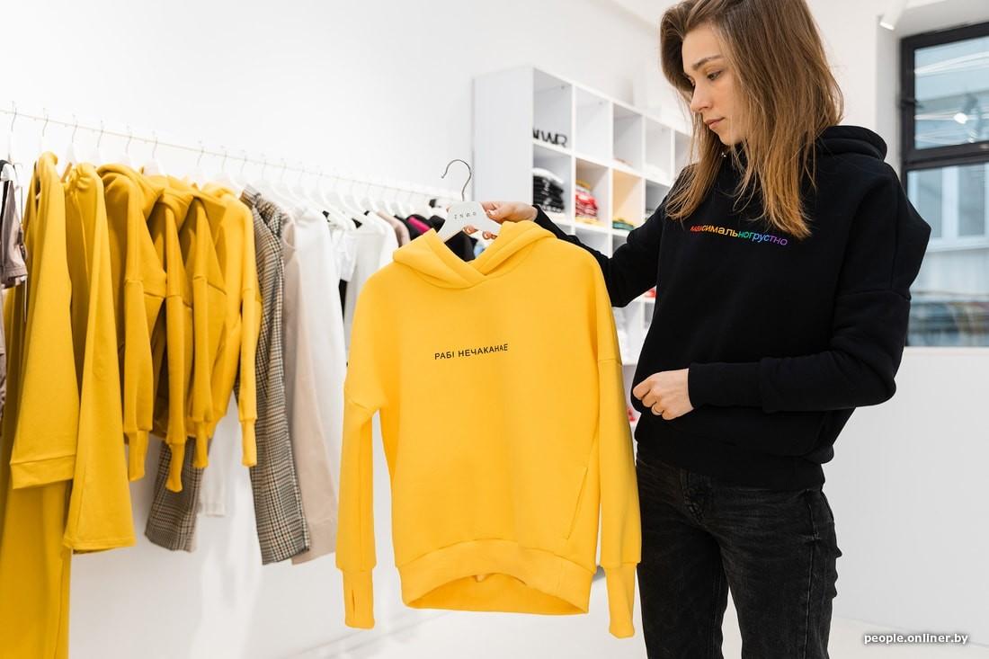 «Говорят, Москва быстрая, а я здесь всех подгонял». Бобруйчанин придумал бренд одежды и за три года открыл магазин в столице России