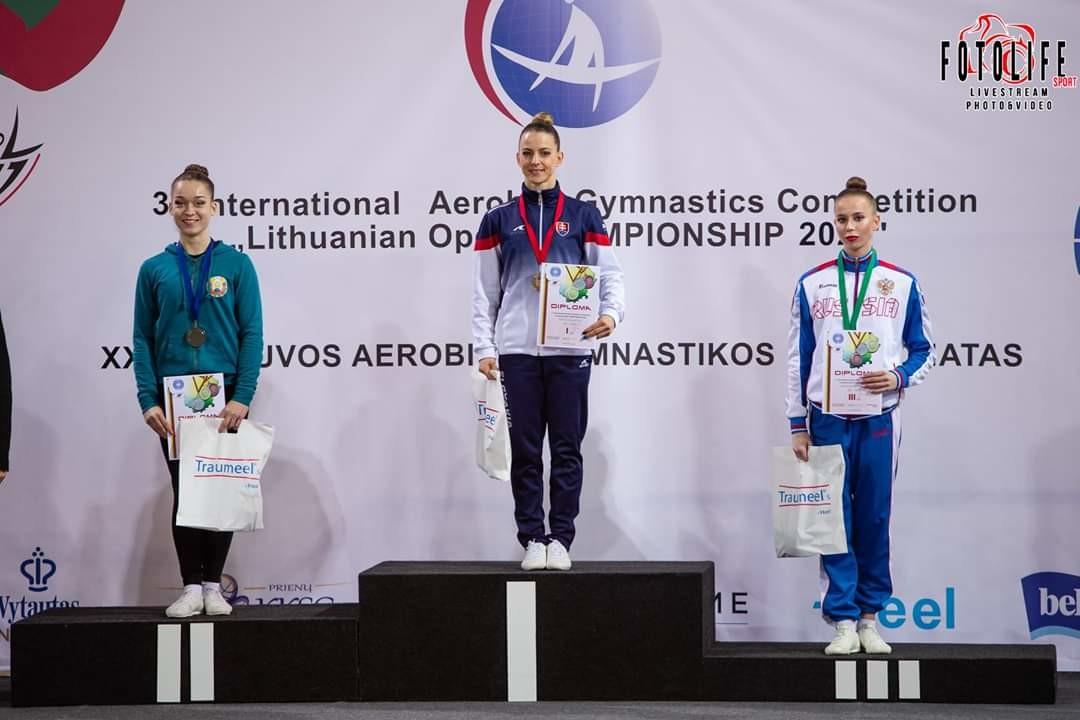 гимнастка в Литве