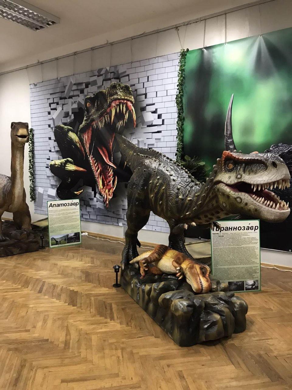 Динозавры вернулись спустя 65 миллионов лет! Интерактивный динопарк «Ожившие динозавры»