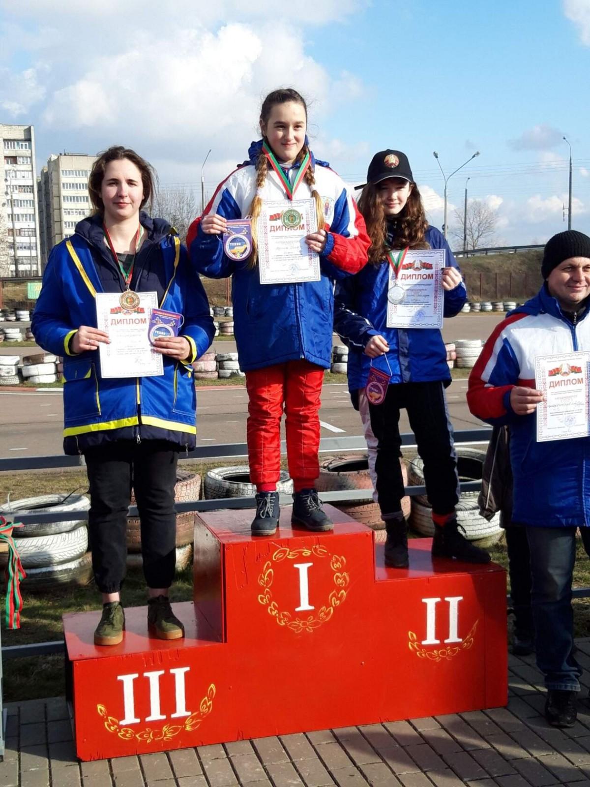 бобруйчане - призёры соревнований по картингу