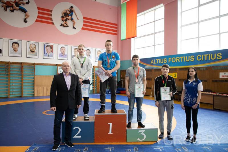 борец из бобруйска на турнире по греко-римской борьбе в гродно