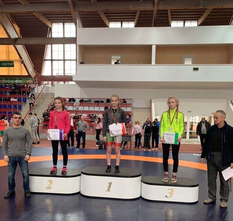 бобруйчанки победили на первенстве по вольной борьбе
