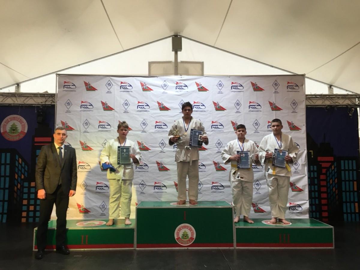 Бобруйские спортсмены успешно выступили на Республиканском турнире по  дзюдо